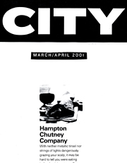 CITY March 2001